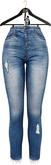 OSMIA - Laurie.High-Waisted Jeans - Blue