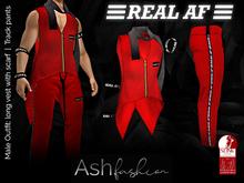 ASH Fashion: REAL AF: Slink outfit: vest and track pants