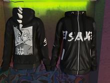 ~Osake-Japan~ Spiked hoodie