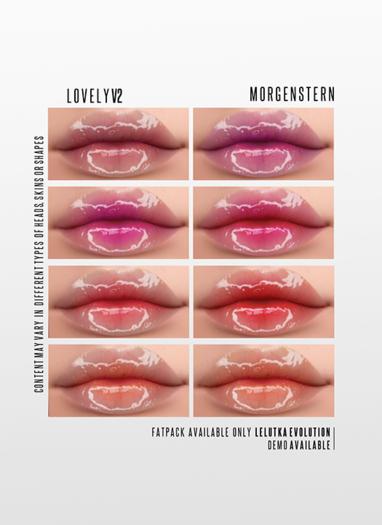 MORGENSTERN: LOVELY V2 LIPSTICK [LELUTKA EVOLUTION]
