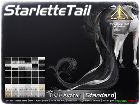 ABADDON ARTS - Starlette Tail LUXE [Teegle Avatar]