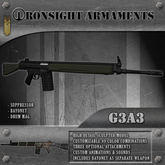 Ironsight Armaments - G3A3