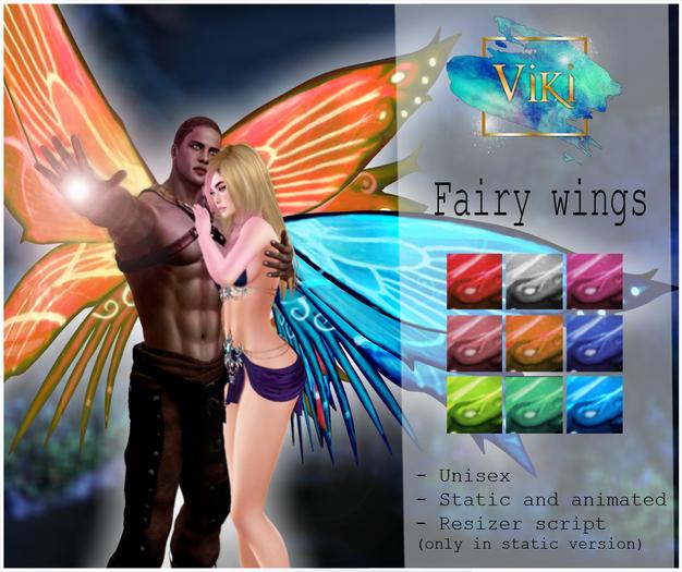 .Viki. Fairy Wings (Wear)