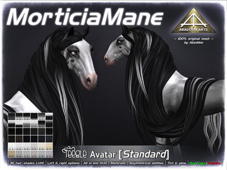 ABADDON ARTS - Morticia Mane S~LUXE [TH AV Standard]