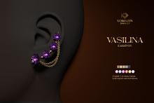 Romazin - Earrings <Vasilina> FatPack