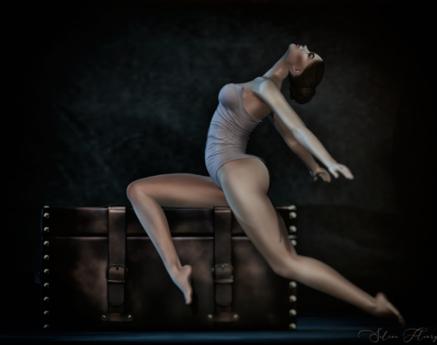 Ballet Trunk Pose