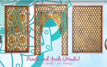 Armonia Decor [AD] Decorative Panel and Arch (Hindu)