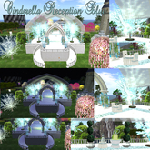 # Cinderella Blue Reception Area with Rezzer and decoration