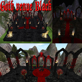 # Gothic Vampire Wedding Venue Black/Red