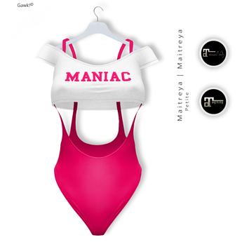 Gawk! Pink Aerobic Body & Shirt