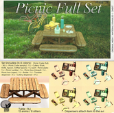 *PC* Picnic FULL SET