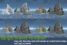 [ Organica ] Upright Granite Formation Pack