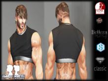 IMPACT- BLACK CROP MANS Aesthetic/BELLEZA/SIGNA/SLIN/LEGACY