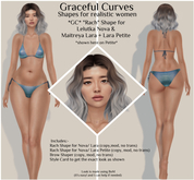 *Graceful Curves* Rach Shape - Lelutka Nova/Lara/Petite