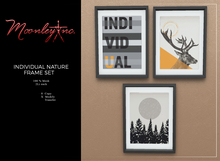 Moonley Inc. - Individual Nature Frame Set