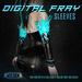 ::Static:: Digital Fray Sleeves {BLACK}