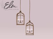 Elm. Lorhen Pendant Light [Gold]