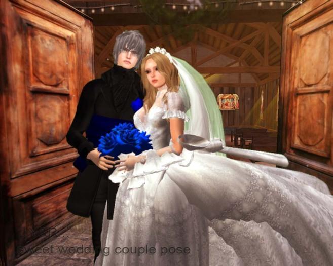 .::Y&R::. Sweet wedding pose