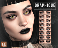 <Nar> Graphique HD Liners // LELUTKA EVO