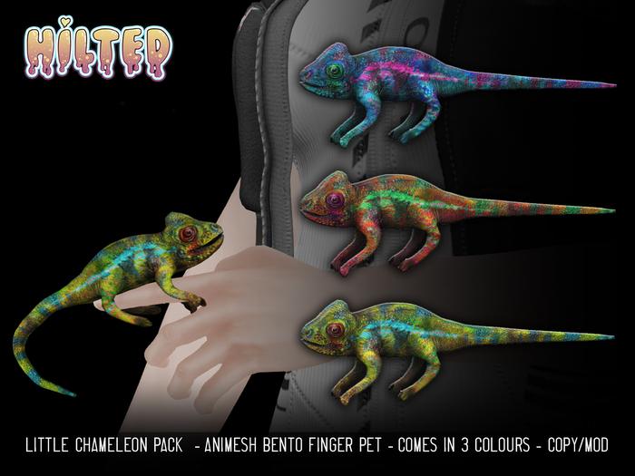 HILTED - Little Chameleon Pack
