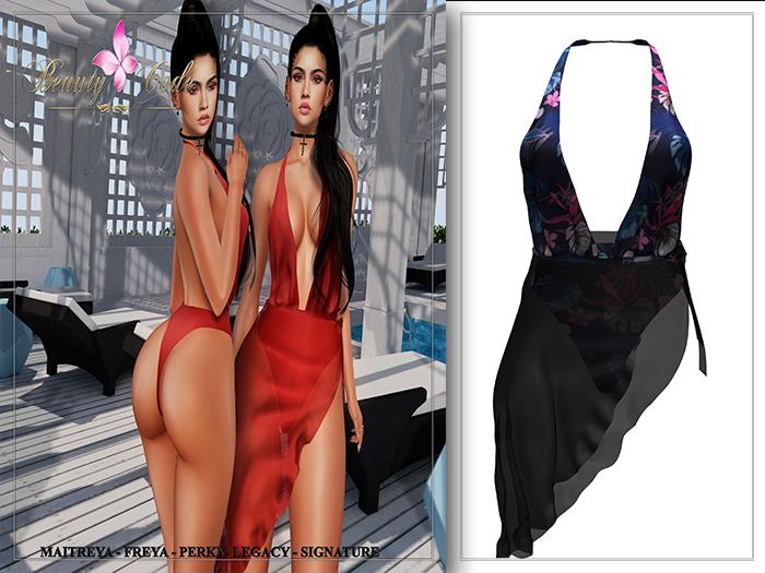 *Beauty Code* - Lisa Beach Pattern 3 - Unpack