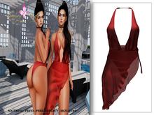 *Beauty Code* - Lisa Beach Red - Unpack