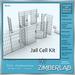 Jail Cell Prison Bars full perm - ZimberLab Jail A