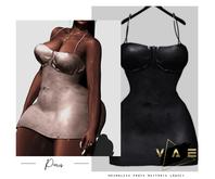 Vague. Paris Dress Black