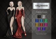 KiB Designs - Dabria Gown FATPACK