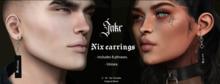 JNKR - Nix Earrings - Silver