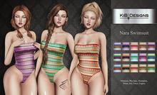 KiB Designs - Nara Swimsuit FATPACK