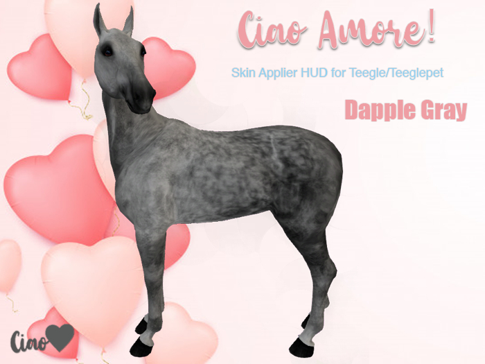 Ciao Amore! - Dapple Grey