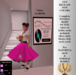 POODLE SKIRT OUTFIT HOT PINK (For Maitreya & Classic Body)