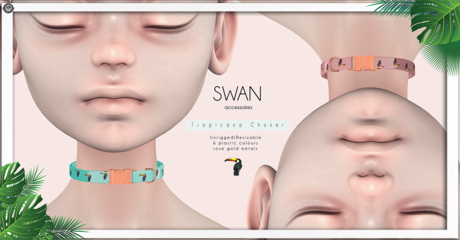 Swan Tropicana Choker