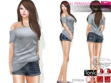 %50SUMMERSALE Full Perm Women's Off Shoulder T-shirt - Lama For Maitreya Slink Belleza Tonic Ocacin Classic