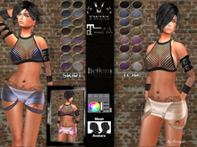 V-Twins Biker- Bonnie Casual Outfit for Maitreya and Belleza