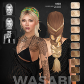 Wasabi // Mer Mesh Hair - Blonds