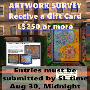 Limited Edition Survey & Gift Card