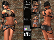 V-Twins Biker  - Bonnie Biker Outfit for Maitreya and Belleza