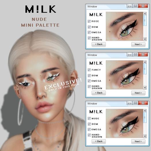 M!LK   Nude mini palette (add)