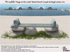 Beach bench cuddle Hugs on the rocks PG 286 anim TS10