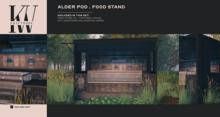 KraftWork Alder Pod Food Stand