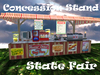 CONCESSION STAND: FAIR VERSION gives 150 foods!