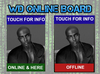 WD ONLINE BOARD, TRACK OWNER OR ANY AVATAR