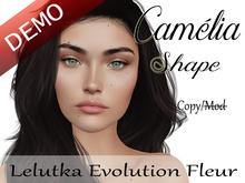 "Camelia Shape ""Lelutka Evolution Fleur Head"" Demo"
