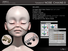 NEW !!! [GA.EG] Jewels - Dhanya Nose Chains
