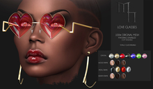 Love Glasses by Madame Noir