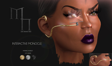 Interactive Monocle Set by Madame Noir