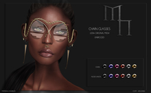 Chain Glasses by Madame Noir