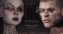 Broken Glasses Fat Pack (dark,light,female,male) by Madame Noir